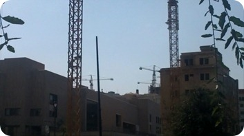 Beyrouth - grues