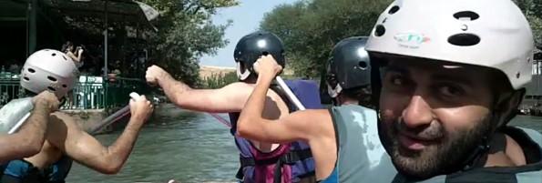 Omar rafting