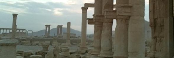 Palmyre - Tetrapylon