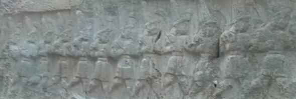 hattusa - bas reliefs de Yazilikaya