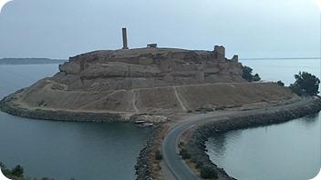 euphrate valley - castle qala'at at ja'abar