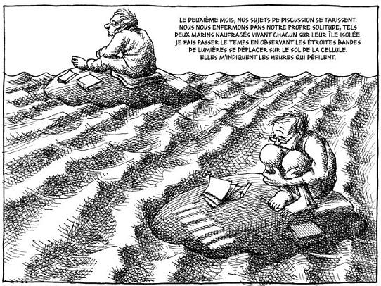 Mana Neyestani enfermement