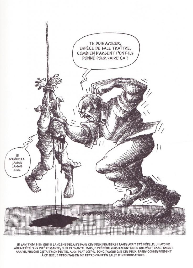 Mana Neyestani interrogatoire