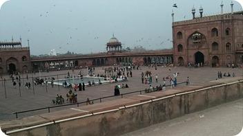 Inde du Nord - mosquée Jama Masjid - Old Delhi