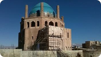 Iran Apercus Perses - Mausolée du Khan Oljeitsu Soltaniyeh